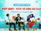 Chủ tịch Hội Đột quỵ TP.HCM, BS Nguyễn Huy Thắng cảnh báo đừng coi thường, tỷ lệ đột quỵ ở người trẻ tăng theo từng năm (Ảnh: HB)