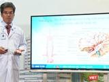 TS.BS Nguyễn Bá Thắng – Trưởng Trung tâm Khoa học Thần kinh BV Đại học Y Dược TP.HCM cảnh báo về bệnh đột quỵ (Ảnh: HB)