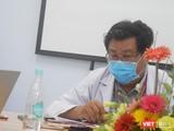 BS Đinh Tấn Phương – Trưởng khoa Cấp cứu (BV Nhi Đồng 1, TP.HCM) - Ảnh: Hoà Bình