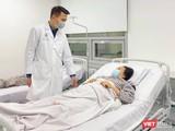 Bệnh nhân đang hồi phục rất tốt sau ca phẫu thuật hy hữu (Ảnh: BVCC)