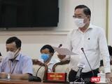 Ông Nguyễn Tấn Bỉnh - Giám đốc Sở Y tế TP.HCM (Ảnh: TTBC)