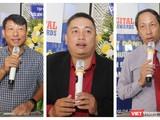 Từ trái qua: ông Ngô Minh Đức - Chủ tịch HĐQT Gotadi, ông Vũ Tuấn Anh - Phó Tổng Giám đốc Dr SME, ông Vũ Anh Tuấn - Tổng Thư ký Hội Tin học TP.HCM (Ảnh: Trường Giang)