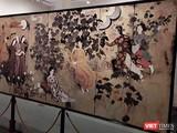 """Bức tranh Bảo vật quốc gia """"Thiếu nữ trong vườn"""" của danh hoạ Nguyễn Gia Trí được đánh số 15 trên iMuseum (Ảnh: Hoà Bình)"""