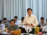 Bộ trưởng Bộ Y tế Nguyễn Thanh Long nhấn mạnh: Bộ Y tế sẽ hỗ trợ ngay tỉnh Vĩnh Long về công tác xét nghiệm, đồng thời lưu ý tỉnh không được chủ quan, lơ là trong công tác phòng chống dịch COVID-19 (Ảnh: BYT)