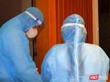 Khẩn cấp xét nghiệm COVID-19 với nhóm lây nhiễm tại Hội thánh truyền giáo Phục Hưng và những người liên quan - Ảnh: CDC TP.HCM