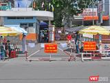 Được biết, cán bộ Công an mắc COVID-19 đã trực tại chốt bệnh viện quận Tân Phú, là nơi phát hiện một số ca bệnh (Ảnh: CDC TP.HCM)