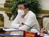 Chủ tịch UBND TP.HCM Nguyễn Thành Phong chỉ đạo cán bộ không tiếp khách tại công sở, trừ trường hợp có thư mời đích danh. Ảnh: TTBC