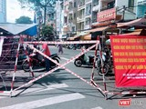 Phong toả khu chợ tự phát Xóm Chiếu để phòng dịch, thực hiện Chỉ thị 10 - Ảnh Hoà Bình