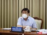 Chủ tịch UBND TP.HCM Nguyễn Thành Phong cho biết TP đã chuẩn bị phương án 10.000 giường bệnh điều trị COVID-19 (Ảnh: TTBC)