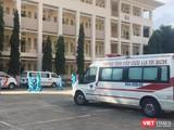 Bệnh viện Dã chiến số 1 vừa đi vào hoạt động, tiếp nhận điều trị bệnh nhân COVID-19 - Ảnh: SYT TP.HCM