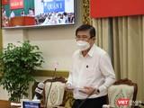 Chủ tịch UBND TP.HCM Nguyễn Thành Phong - Ảnh: Huyền Mai
