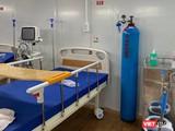 Một phòng bệnh đang được chuẩn bị đón bệnh nhân tại Bệnh viện dã chiến số 16 (Ảnh: BYT)