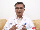 Bác sĩ Lê Quốc Hùng (Trưởng khoa Bệnh Nhiệt đới, Bệnh viện Chợ Rẫy) - Ảnh: NVCC