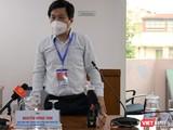Phó Giám đốc Trung tâm Kiểm soát Bệnh tật TP.HCM Nguyễn Hồng Tâm
