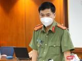 Thượng tá Lê Mạnh Hà – Phó trưởng Phòng Tham mưu, Công an TP.HCM cho biết, quét mã QR của Bộ Công An đã phát hiện 30 F0 đang di chuyển trên đường
