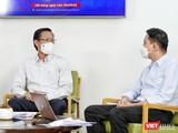 Chủ tịch UBND TP.HCM Phan Văn Mãi trao đổi về công tác phòng, chống dịch COVID-19