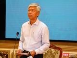 Phó Chủ tịch UBND TP.HCM Võ Văn Hoan có công văn về việc liên thông kết nối dữ liệu phần mềm quản lý COVID-19