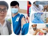 TS Bùi Lê Minh – Trưởng Ngành Công nghệ Sinh học (Viện Kỹ thuật Công nghệ cao, Đại học Nguyễn Tất Thành) trả lời phỏng vấn của VietTimes về vaccine Nanocovax, cho rằng cần có bằng chứng trực tiếp để làm cơ sở cấp phép. Ảnh: Hòa Bình