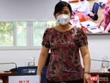 Chánh Văn phòng Sở Y tế TP.HCM Nguyễn Thị Huỳnh Mai. Ảnh: Linh Nhi