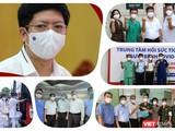 Ths.Nguyễn Trọng Khoa - Phó Cục trưởng Cục Quản lý Khám, chữa bệnh (Bộ Y tế) đã trực tiếp chỉ đạo điều trị COVID-19 ở nhiều vùng dịch khác nhau, như Đà Nẵng, Hải Dương, Bắc Giang, TP.HCM. Ảnh: Hoà Bình ghép