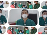 TS.BS Đỗ Ngọc Sơn - Phó Giám đốc Trung tâm Hồi sức tích cực người bệnh COVID-19 Bạch Mai. Ảnh: Hoà Bình