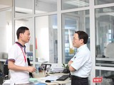 PGS.TS Trần Huy Thịnh và GS. Tạ Thành Văn
