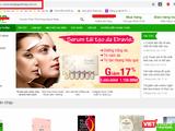 Trang web hangngoainhap.com.vn có dấu hiệu lừa dối người tiêu dùng khi quảng cáo thực phẩm bảo vệ sức khỏe Fracora Placenta Drink 150.000.