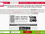 """Một trong 4 trang web vi phạm quảng cáo bị Cục An toàn thực phẩm """"tuýt còi""""."""