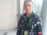 Anh Nguyễn Thanh Trung (26 tuổi, Nghệ An) tới chăm sóc cho con gái tại Bệnh viện Trung ương Quân đội 108.