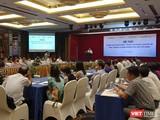 Buổi hội thảo về chính sách bảo hiểm y tế dành cho người khuyết tật tổ chức sáng 23/8 tại Hà Nội.