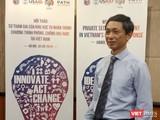 Cục trưởng Cục Phòng, chống HIV/AIDS Nguyễn Hoàng Long tại buổi hội thảo sáng 30/8.