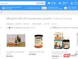 Các sản phẩm bày bán trên trang tiki.vn