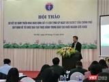 Buổi hội nghị sơ kết 2 năm thực hiện Nghị định 111/2017 tổ chức tại Hà Nội sáng 9/12.