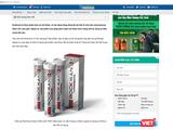 Website có địa chỉ https://soytebackan.vn/vien-sui-rockman/ bị Cục An toàn thực phẩm tuýt còi vì vi phạm pháp luật về quảng cáo.