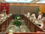Toàn cảnh cuộc họp do Bộ KH&CN tổ chức vừa diễn ra chiều nay. Ảnh: Trần Hồng