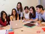Đại học RMIT cho rằng toàn bộ trải nghiệm sinh viên, chứ không chỉ có lớp học và bài tập, phải tồn tại và cũng phải được chuyển sang trực tuyến. Ảnh: Minh Ngọc.