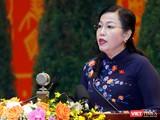 PGS.TS Nguyễn Thanh Hải - Ủy viên Trung ương Đảng, Bí thư Tỉnh ủy, Trưởng Đoàn đại biểu Quốc hội tỉnh Thái Nguyên.