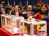 Hôm nay (30/1), Đại hội Đảng XIII làm việc tại Hội trường cả ngày để tiến hành bỏ phiếu bầu cử Ban Chấp hành Trung ương khóa XIII.