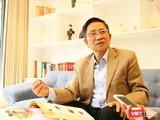 GS. Nguyễn MInh Thuyết trong buổi trò chuyện với VietTimes