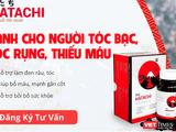 Sản phẩm thực phẩm bảo vệ sức khỏe Hatachi đang được quảng cáo trên trang hatachivn.com. Ảnh: hatachivn.com