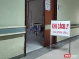 Khu cách ly tại Bệnh viện Hữu Nghị. Ảnh: Minh Thúy