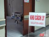 Khu vực cách ly bệnh nhân tại Bệnh viện Hữu Nghị Việt Xô. Ảnh: Minh Thúy