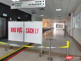 Khu vực cách ly tại Bệnh viện Bệnh Nhiệt đới Trung ương cơ sở 2. Ảnh: Minh Thúy
