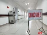 Khu vực cách ly tại Bệnh viện Bệnh Nhiệt đới Trung ương (Đông Anh, Hà Nội). Ảnh: Minh Thúy
