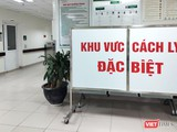 Khu vực cách ly đặc biệt tại Bệnh viện Bệnh Nhiệt đới Trung ương. Ảnh: Minh Thúy