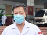 TS. BS. Phạm Ngọc Thạch – Giám đốc Bệnh viện Bệnh Nhiệt đới Trung ương cơ sở 2. Ảnh: Minh Thúy