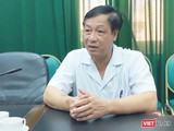 TS. Phạm Ngọc Thạch – Giám đốc Bệnh viện Bệnh Nhiệt đới Trung ương (Ảnh: Minh Thúy)
