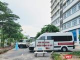 Khu vực khám nhiễm trùng hô hấp ở bệnh viện (Ảnh - Minh Thuý)