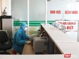 Bác sĩ trực cấp cứu ở bệnh viện (Ảnh - Minh Thuý)