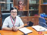 BS. Vũ Quốc Đạt – Giảng viên Bộ môn Truyền nhiễm, Trường Đại học Y Hà Nội. (Ảnh: Minh Thúy)